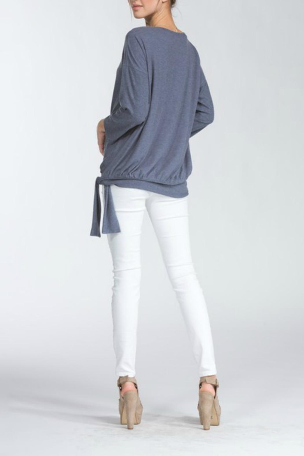 Cherish Tie Waist Top - Side Cropped Image