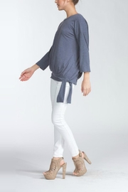 Cherish Tie Waist Top - Front full body