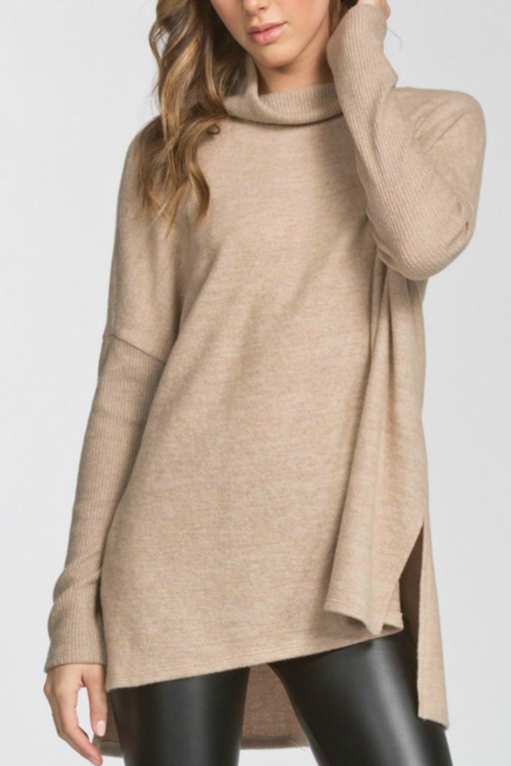 Cherish Turtleneck Hilo Tunic - Main Image