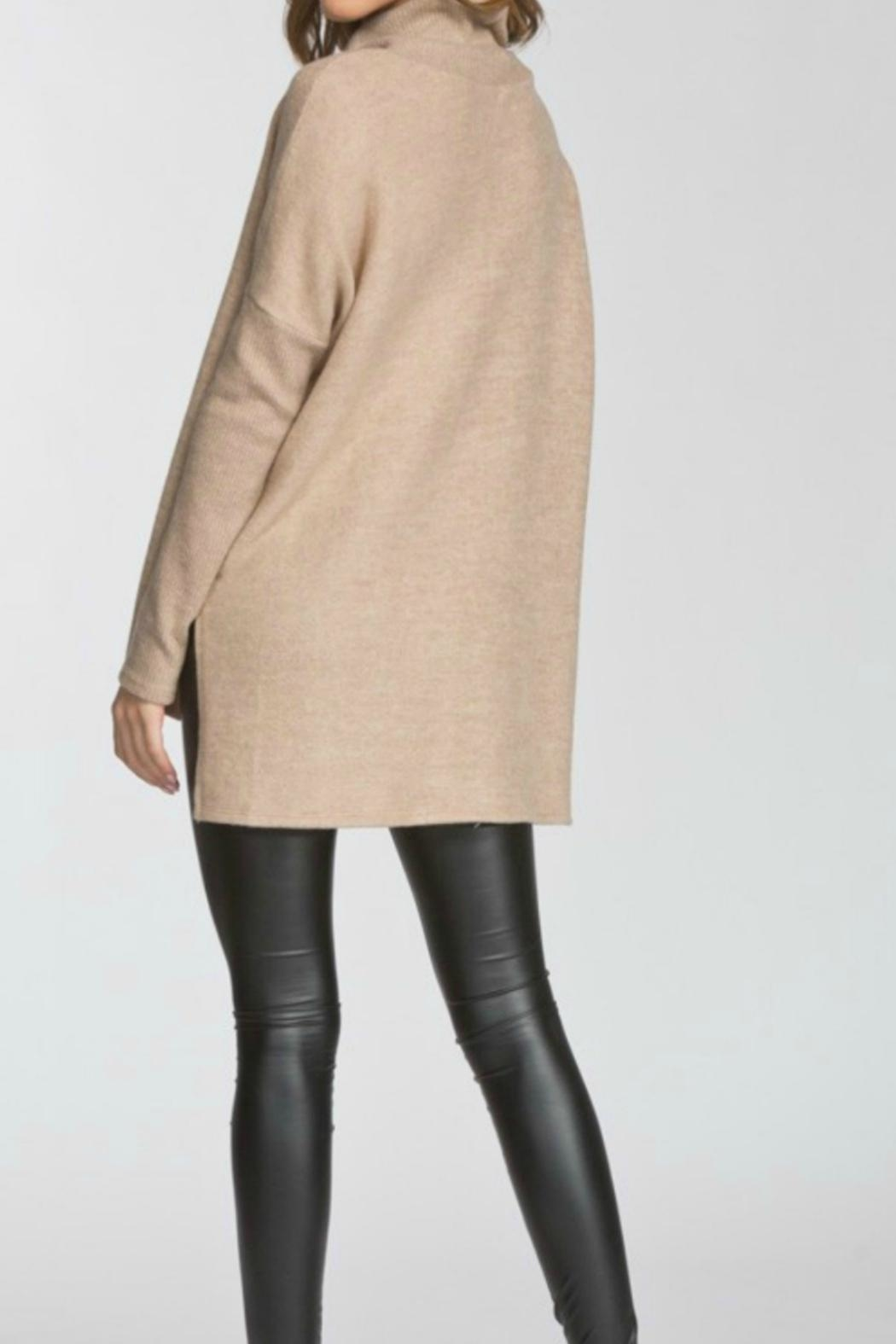 Cherish Turtleneck Hilo Tunic - Front Full Image
