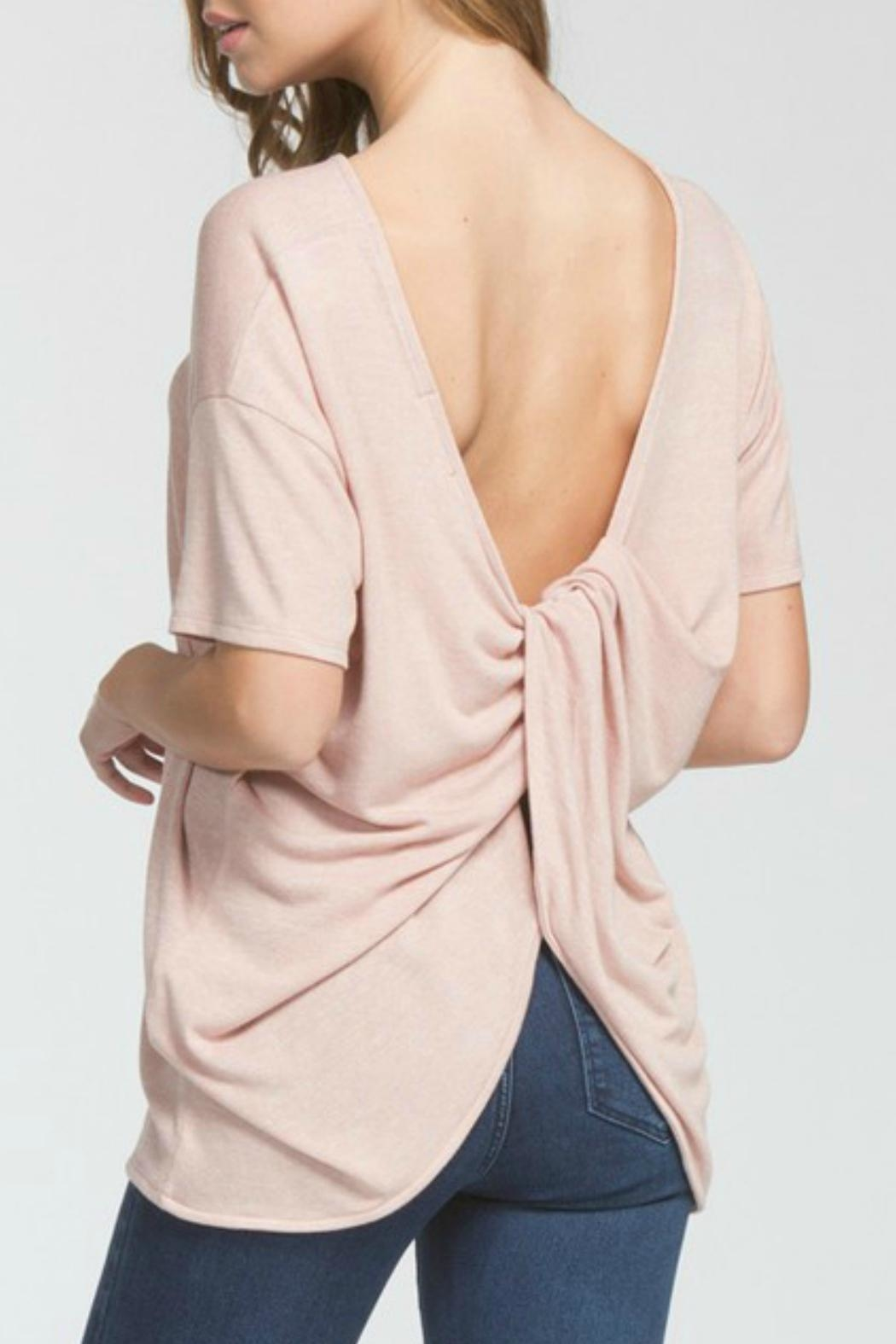 Cherish Twist-Of-Fate Top - Front Cropped Image