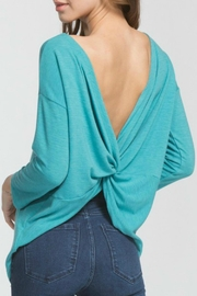 Cherish Twist-Of-Fate Top - Front cropped