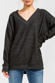 Cherish V-Neck Long-Sleeve Top - Product Mini Image