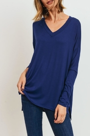 Cherish V-Neck Relaxed Top - Product Mini Image
