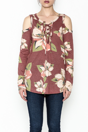 Cherish Vintage Floral Top - Front full body