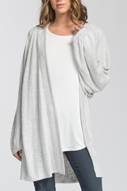 Cherish USA Balloon Sleeve Cardigan - Front full body