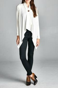 Shoptiques Product: Button Wrap Cardigan