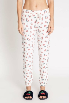 PJ Salvage Cherries Lounge Pant - Product List Image