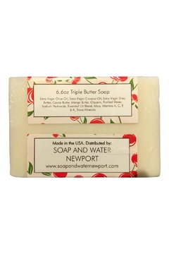 Soap and Water Newport Cherry Almond Barsoap - Alternate List Image