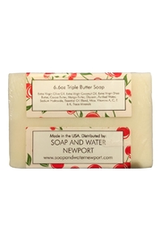 Soap and Water Newport Cherry Almond Barsoap - Front full body