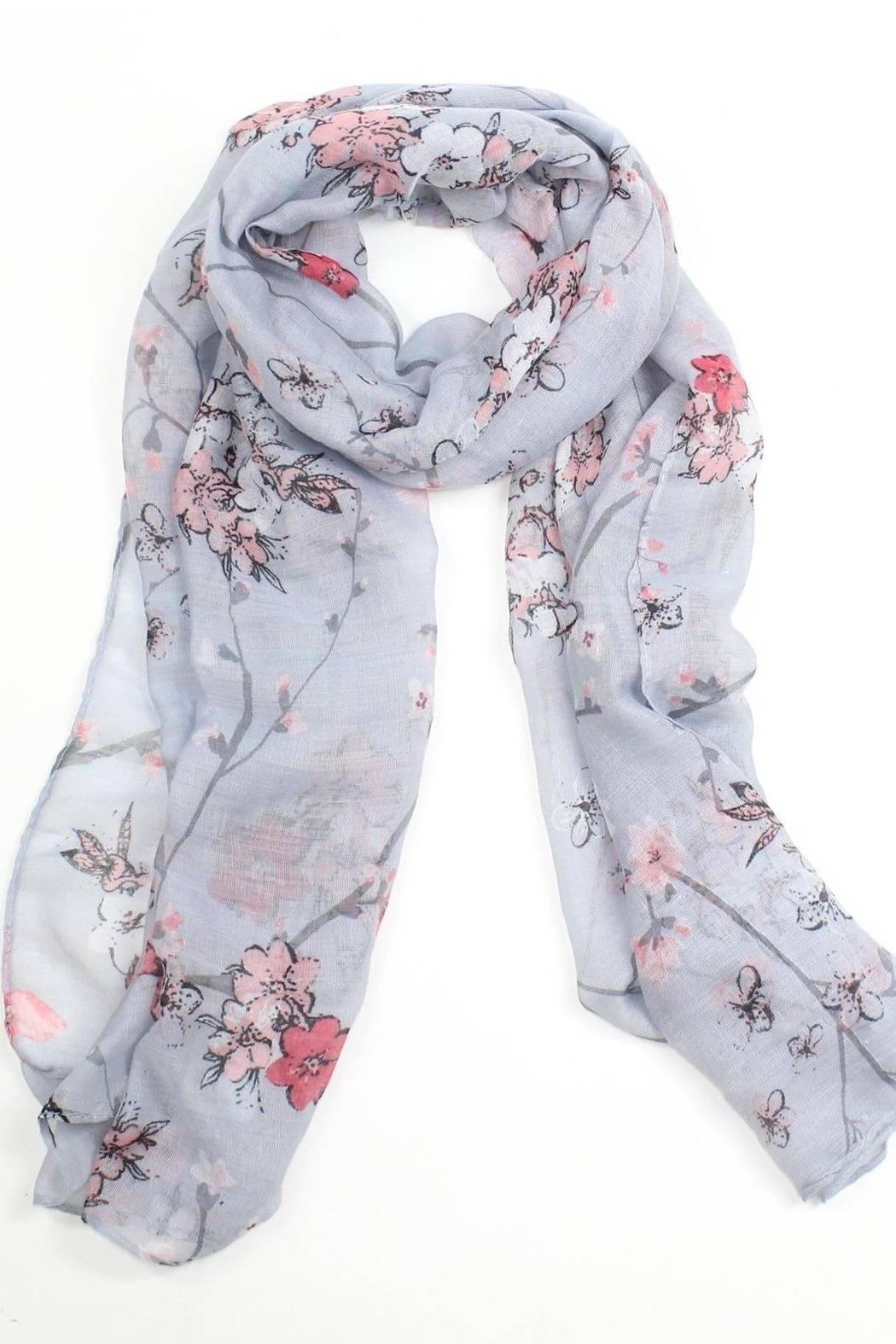 81218d485 Pink Poodle Boutique Cherry Blossom Scarf from Glasgow by Pink ...