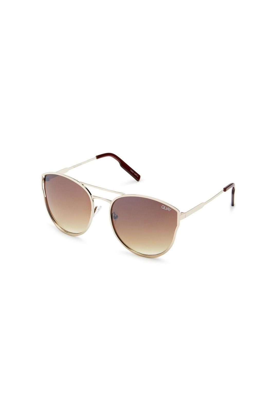 Quay Australia Cherry Bomb Sunglasses - Side Cropped Image