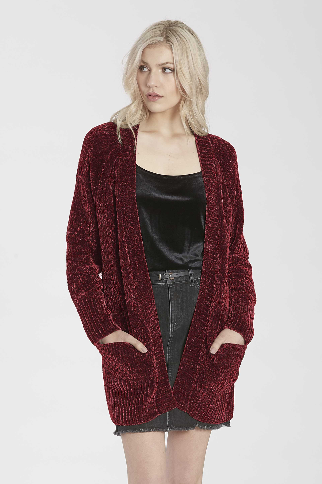 another love  Cherry Cardigan - Main Image