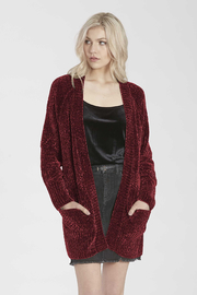 another love  Cherry Cardigan - Front cropped