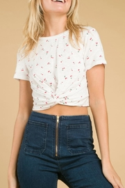 Wild Honey Cherry Crop Tee - Front cropped