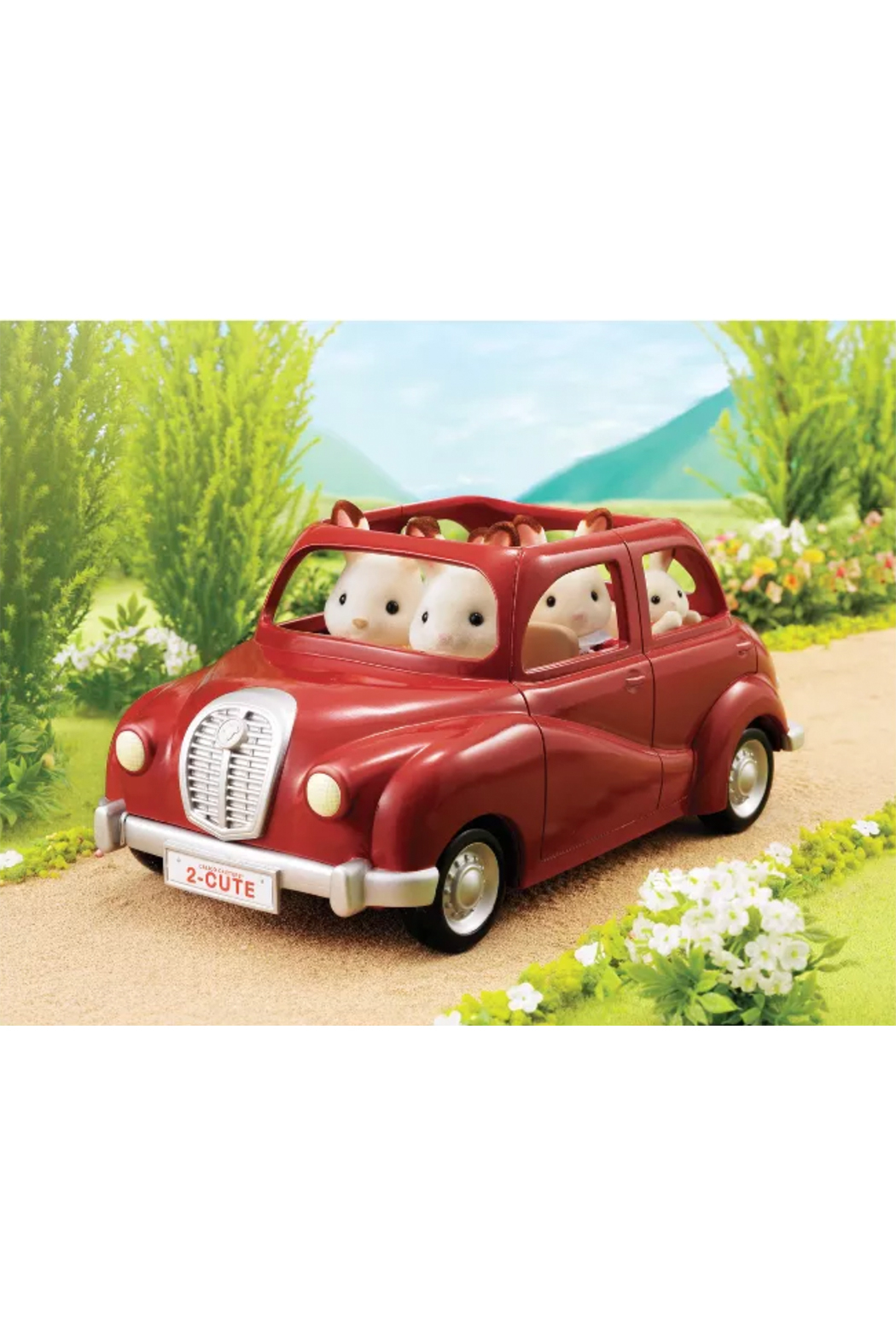 Calico Critters Cherry Cruiser - Front Full Image