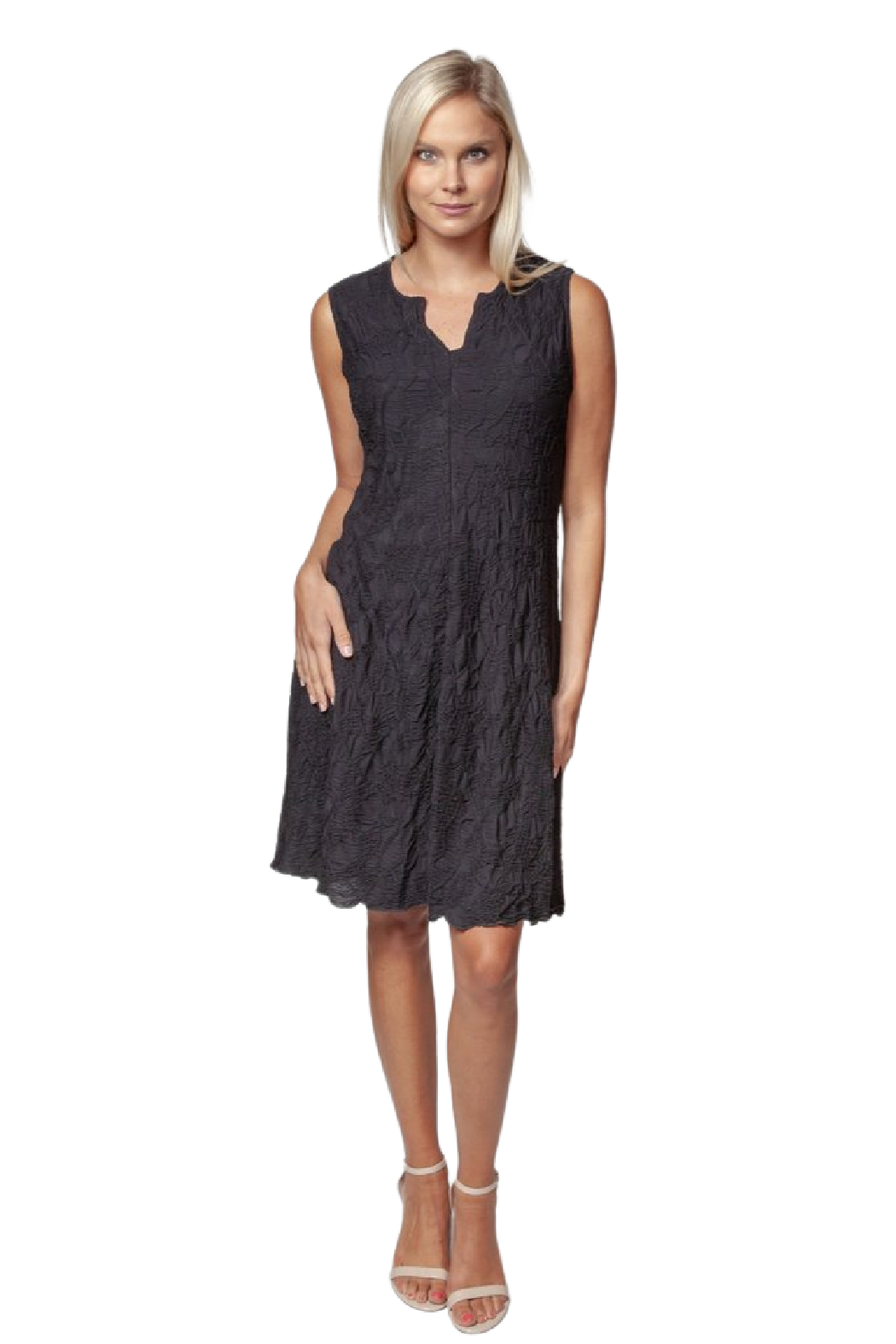Sno Skins Sleeveless Dreamcatcher Dress - Front Cropped Image