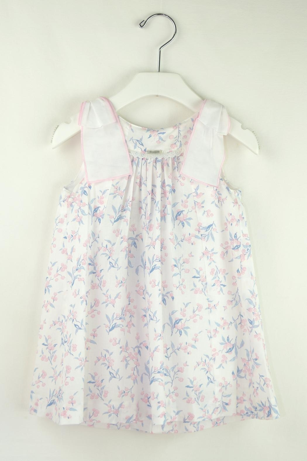 Foque Cherry Flower Dress - Main Image