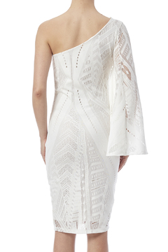Shoptiques Product: White One Sleeve Dress