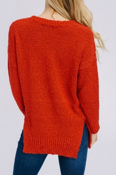 Modern Emporium Cherry Red Sweater - Alternate List Image