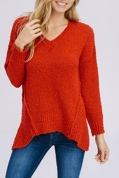 Shoptiques Product: Cherry Red Sweater
