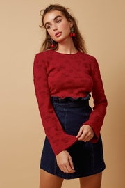 Finders Keepers Cherry Ripe Knit - Product Mini Image