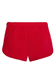 Mayoral Cherry Ruffle Short - Front full body