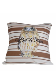 Cherry's Delight Be Wise Owl Pillow - Product Mini Image