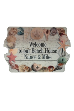 Shoptiques Product: Beach Welcome Sign
