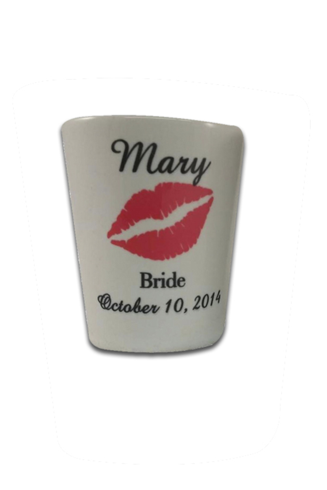 Cherry's Delight Bridesmaids Shot Glasses - Front Cropped Image