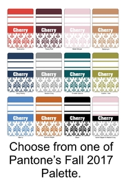 Cherry's Delight Personalized Bookmark - Front full body