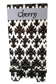 Cherry's Delight Personalized Cellphone Stand - Front cropped