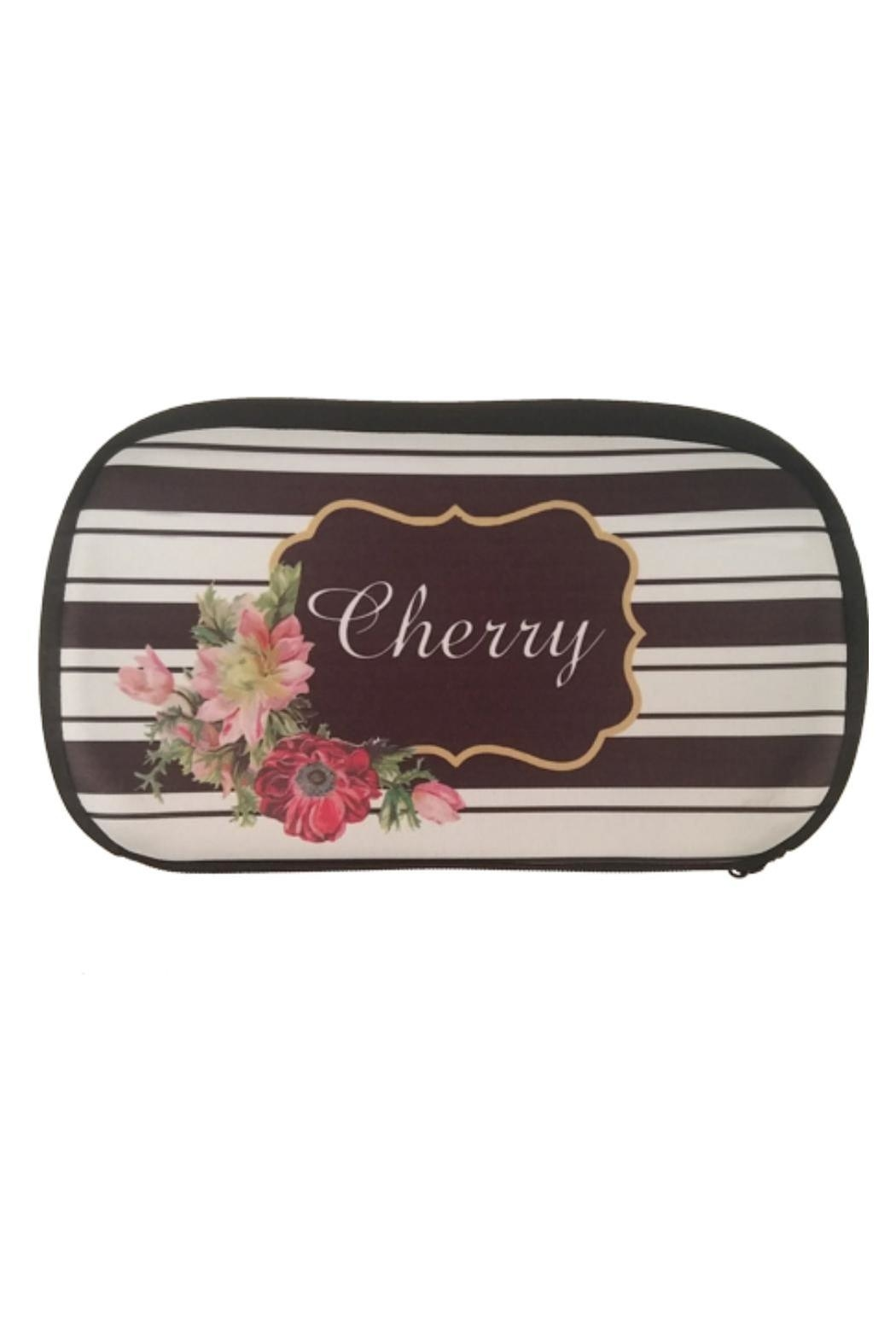 Cherry's Delight Personalized Cosmetic Bag - Main Image