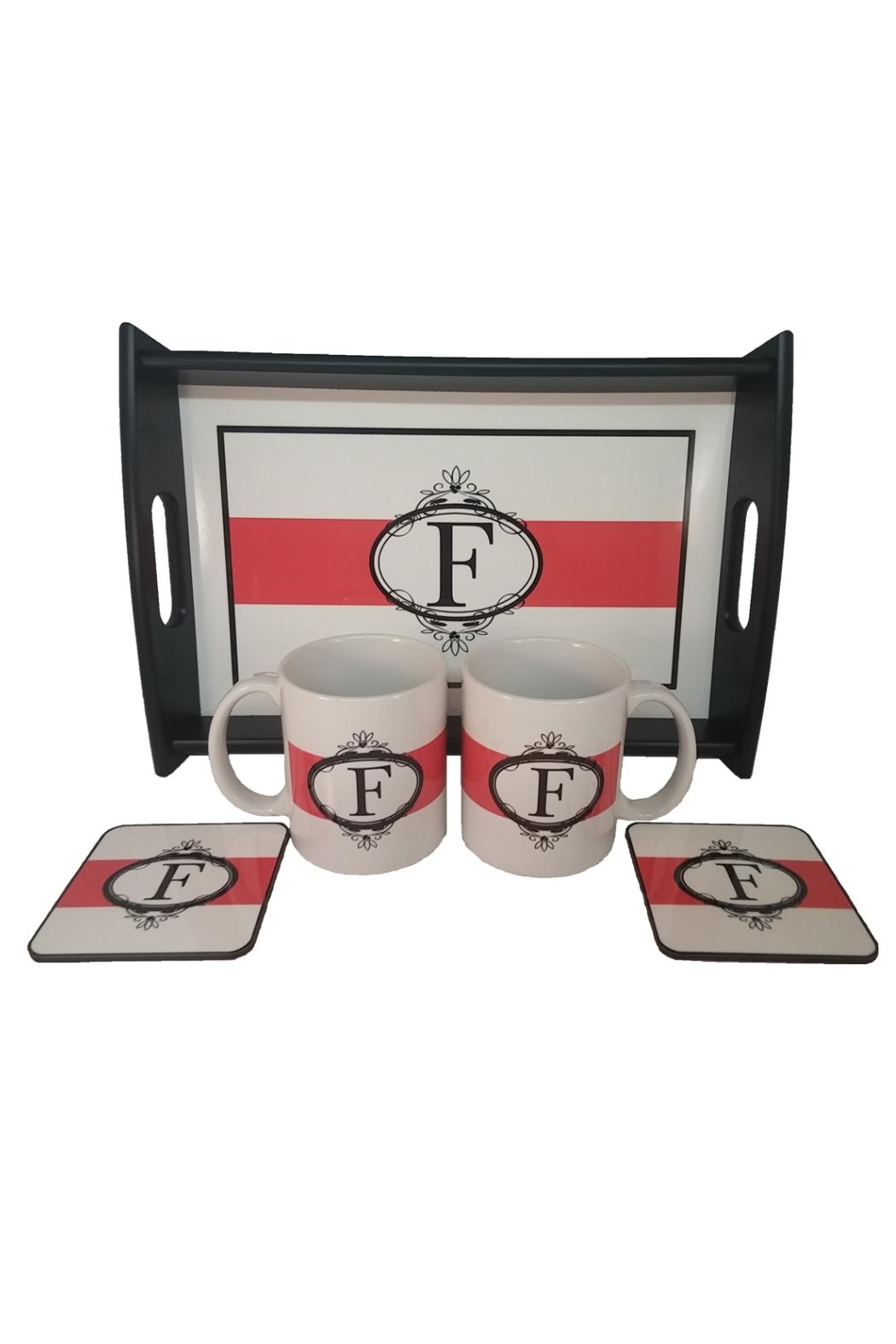 Cherry's Delight Personalized Tray Gift-Set - Back Cropped Image