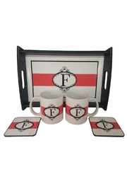 Cherry's Delight Personalized Tray Gift-Set - Back cropped