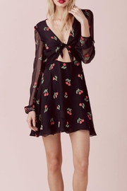 FOR LOVE & LEMONS Cherry Twist Dress - Product Mini Image