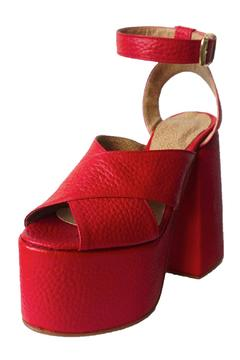 Shoptiques Product: Olympia Cherry Platforms