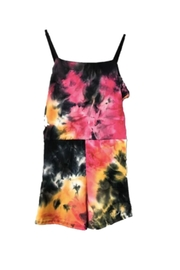 Cheryl Creations Tie Dye Romper - Front cropped