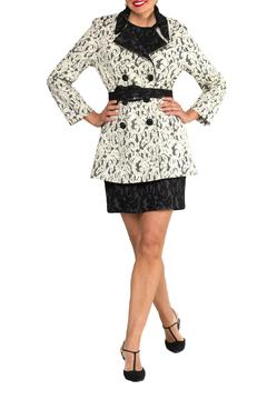 Cheryl Nash Montreal Lace Trench - Product List Image