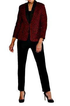 Cheryl Nash Simone Crinkle Jacket - Alternate List Image