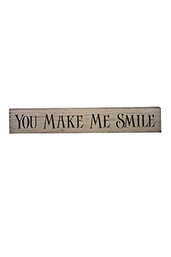 Shoptiques Product: Smile Sign