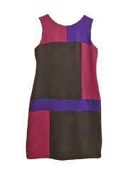 Chetta B Purple Block Dress - Product Mini Image