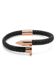 Chevalier Project Black Nail Bracelet - Product Mini Image