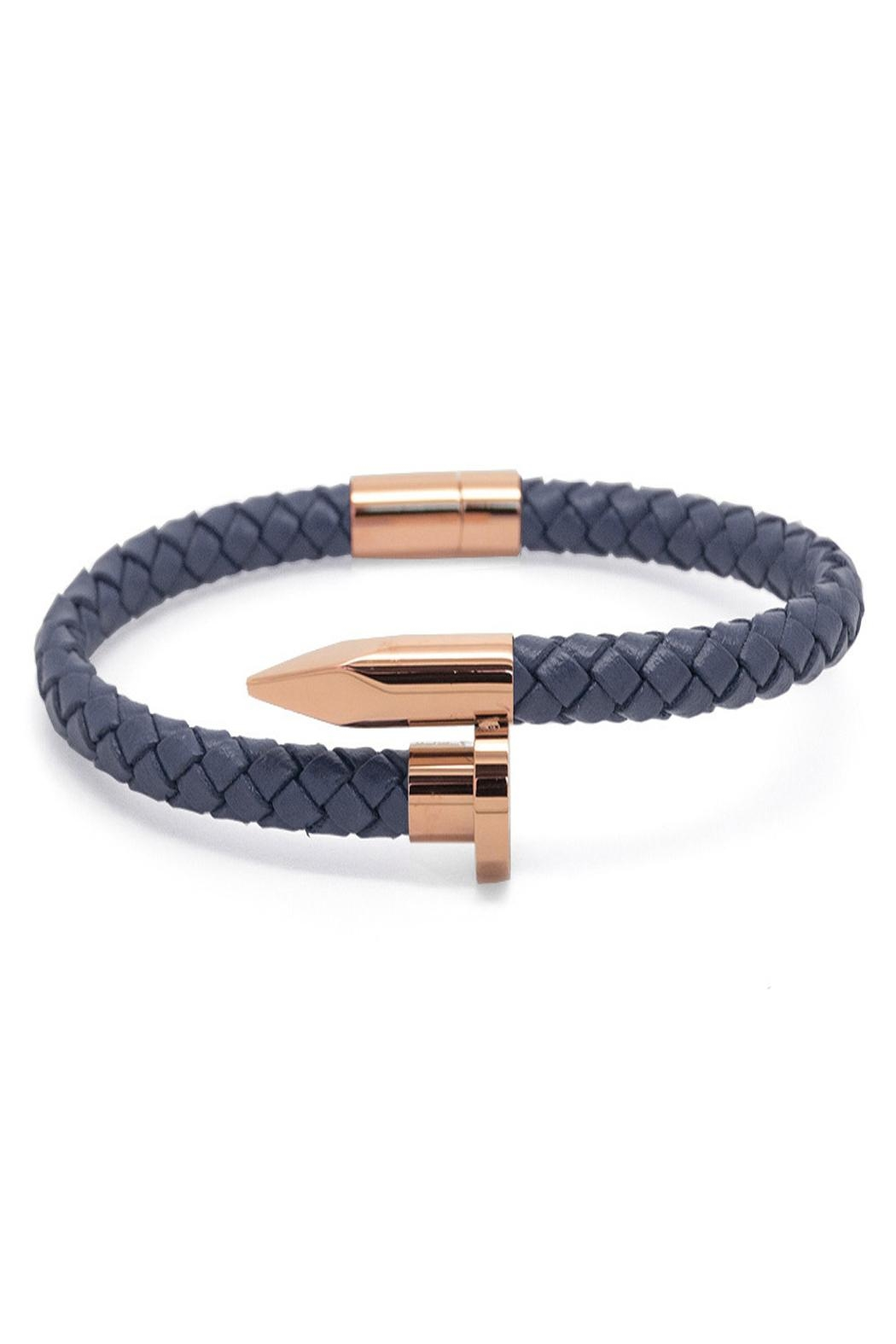 Chevalier Project Blu Nail Bracelet - Front Cropped Image