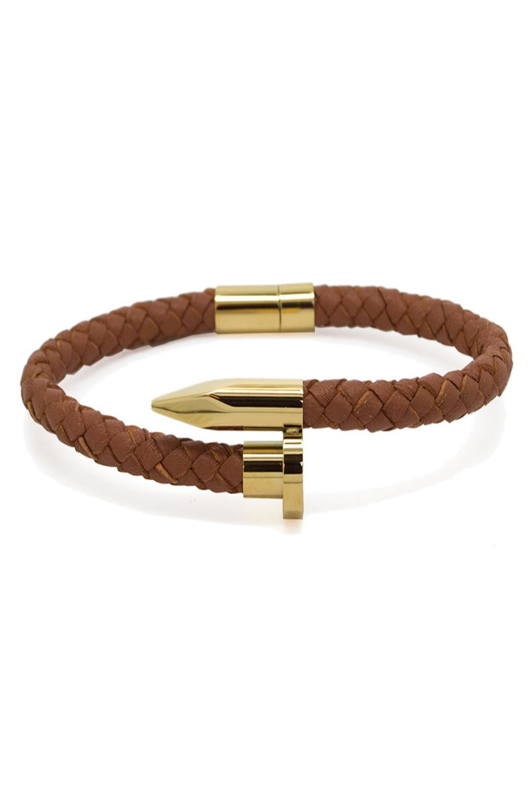 Chevalier Project Brown Nail Bracelet - Main Image