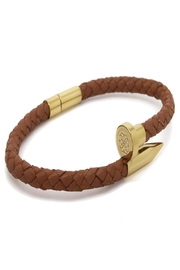 Chevalier Project Brown Nail Bracelet - Front full body