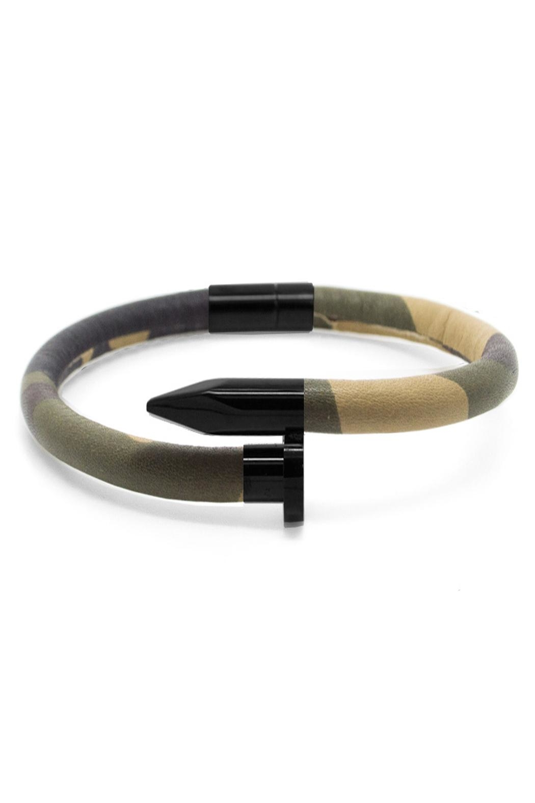 Chevalier Project Camouflage Nail Bracelet - Main Image