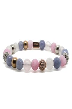 Chevalier Project Rose White Bracelet - Alternate List Image