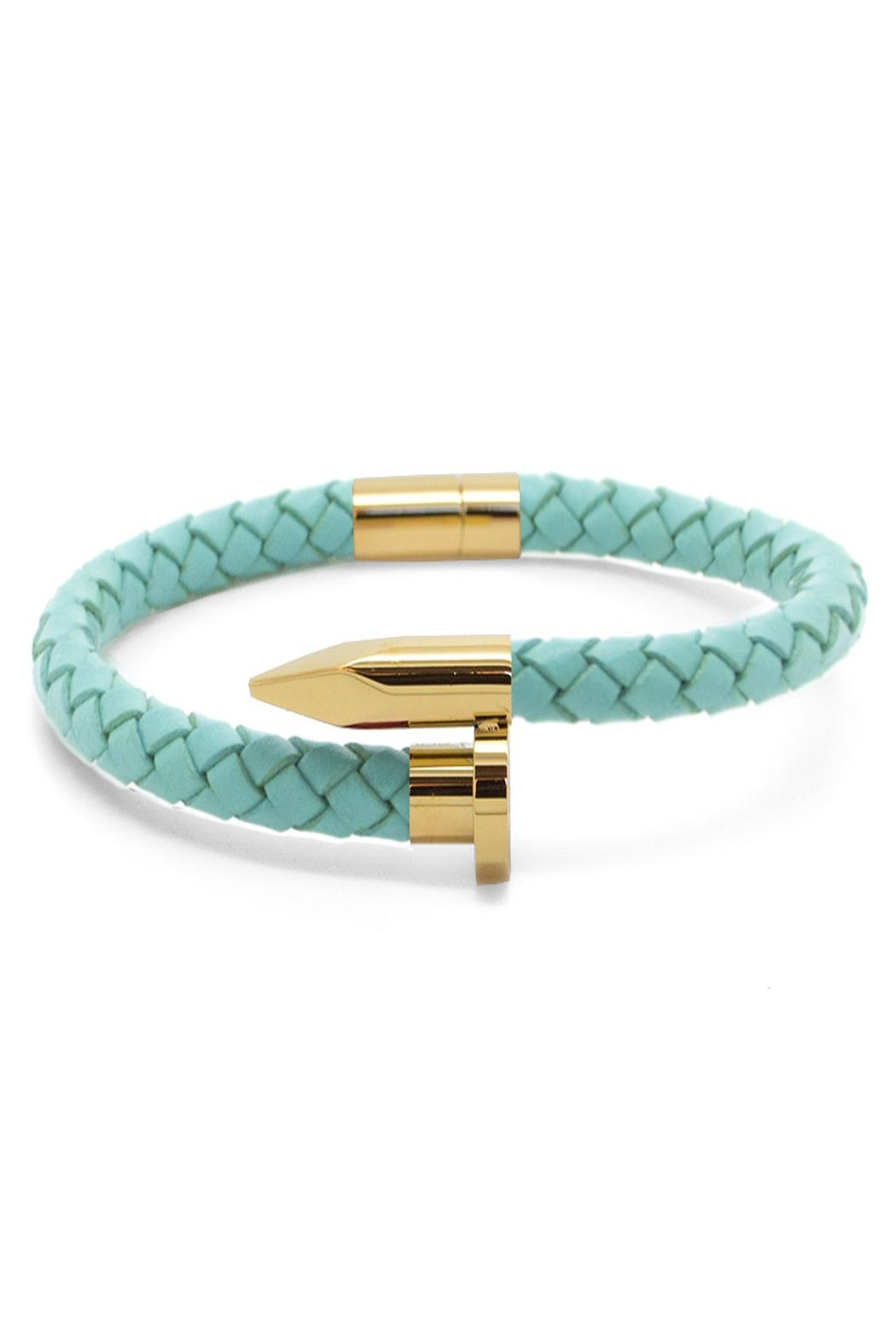 Chevalier Project Turquoise Nail Bracelet - Main Image