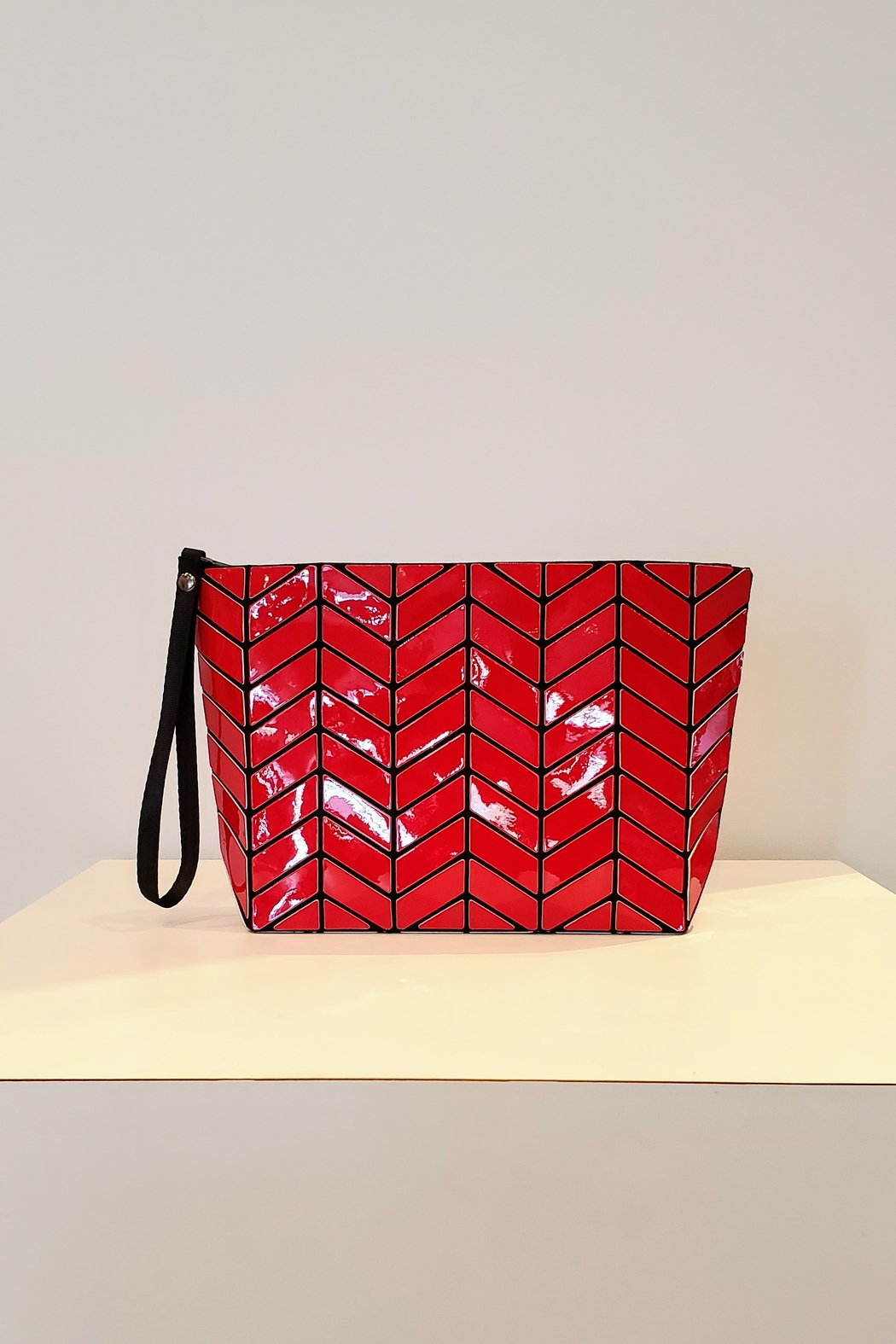 Patrizia Luca Chevron Geo Clutch - Front Cropped Image